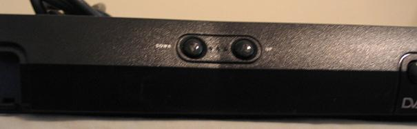 receiver front center
